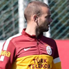 Sneijder ayrı çalıştı